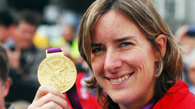 Katherine Grainger Olympic rowing gold medallist.