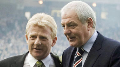 Gordon Strachan and Walter Smith, March 2009.