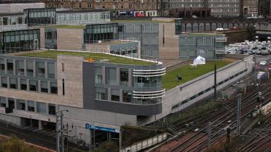 Body found at Waverley Court, City of Edinburgh Council headquarters.