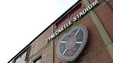Quality GV of Hearts home ground Tynecastle