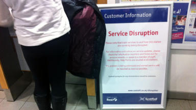 ScotRail signalling delays.