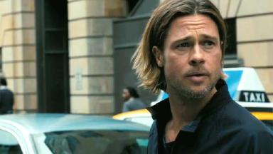 Z-Day: Brad Pitt in World War Z scene shot in Glasgow