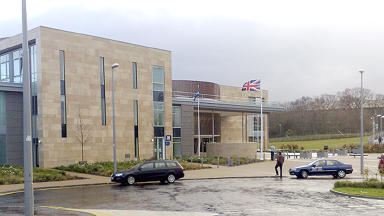 Livingston Sheriff Court generic exterior quality.