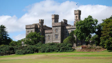 Lews Castle: Western Isles Council in legal row.