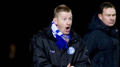 St Johnstone manager Steve Lomas.