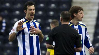 Kilmarnock defender Manuel Pascali