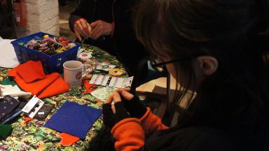 The Imaginarium, textile crafts