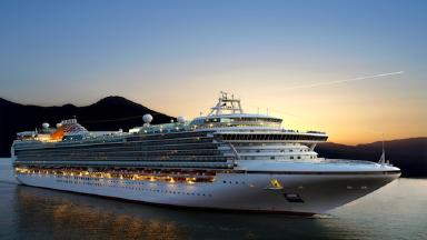 Cruise ship market is recovering.