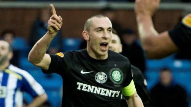 Scott Brown, Celtic, December 2012.