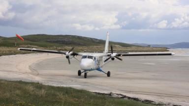 Barra: The island's airport won the award last year.