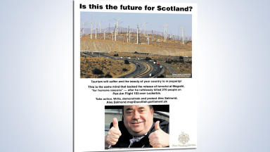 Donald Trump anti-windfarm advert, December 2012