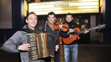 Celtic Connections: Folk rockers Manran will be playing the O2 ABC with Kila on January 19 as part of the festival.