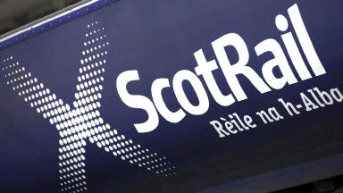 ScotRail train close up quality image