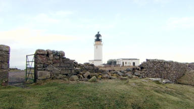 Cape Wrath lighthouse in Durness, the Highlands.