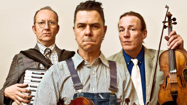 Comedy capers: The New Rope String Band is playing at the Tron Theatre as part of Celtic Connections.