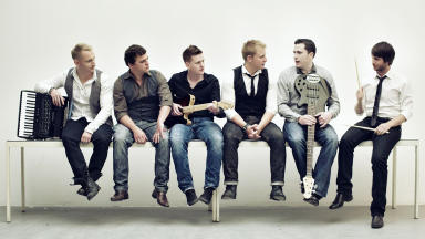 Festival appearance: Celtic Connections will be a homecoming of sorts for Skerryvore as they prepare for a fifth year at the festival.
