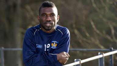 Kilmarnock midfielder Rabiu Ibrahim.