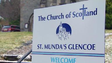St Mungo's church, Glencoe.