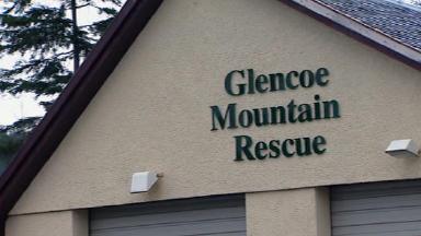 Glencoe Mountain Rescue.