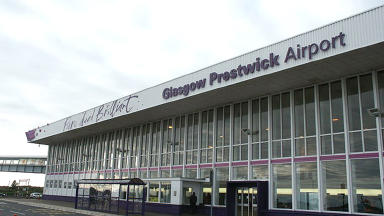 Winging it: Prestwick Airport is set for a further £9.4m of taxpayer funded loans.