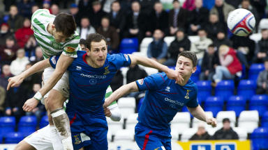Inverness 1-3 Celtic, February 2013.