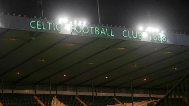 Celtic Park, night GV.