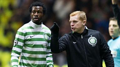 Celtic defender Efe Ambrose.