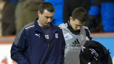 More misery for Dundee manager Barry Smith.