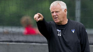 Dunfermline Athletic manager Jim Jefferies.