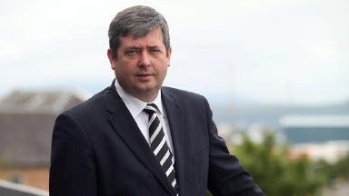 Top lawyer: Frank Mulholland QC is stepping down.