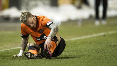 Dundee United forward Johnny Russell.