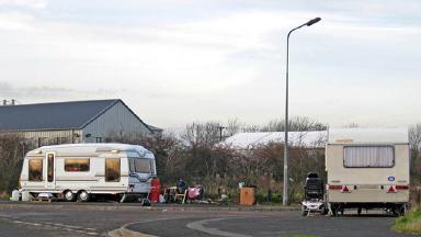 GV of Gypsy Traveller Caravan.