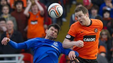 Dundee United captain Jon Daly is a target for Rangers boss Ally McCoist.