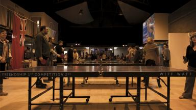 Ping Pong: The monthly event at Drill Hall.