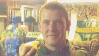 Ralph Hebden, the 45 Commando marine reported missing from his Arboath, Angus, home