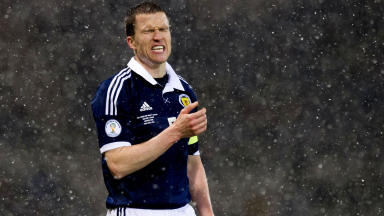 Scotland defender Gary Caldwell.