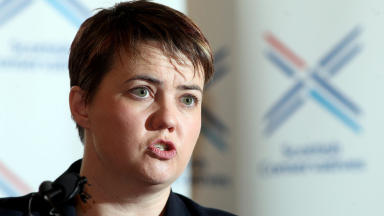 QUALITY Ruth Davidson MSP, Leader of the Scottish Conservative Party speaks to gathered party members and press about next years Referendum and where her party stands on keeping Britain together. 26/03/13