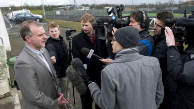 fraser wishart, pfa chief executive, dunfermline, march 2013.