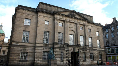 High Court in Edinburgh exterior wide quality image