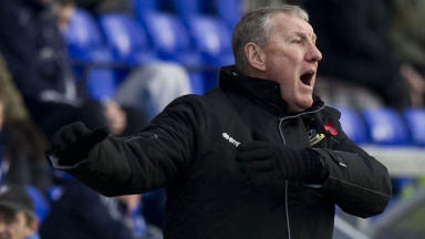 Terry Butcher on the sidelines in late 2012.