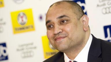 Imran Ahmad, commercial director of Rangers FC