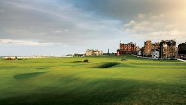Tourism: Scotland's golf industry is thriving.