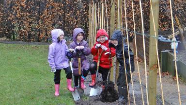 The Children's Garden, Glasgow Botanic Gardens.