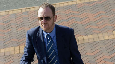 Scot Gardiner in sunglasses