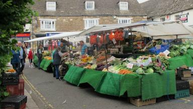 Merlin Market: The pub will launch its own Saturday market.