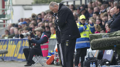 Terry Butcher hailed his players despite Inverness slipping to fourth in the SPL table.