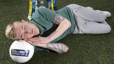 Hibernian youngster Daniel Handling looks ahead to the William Hill Scottish Cup Final against Celtic.