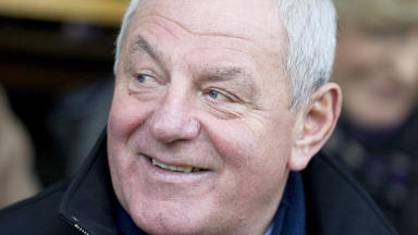 Former Rangers manager and now chairman Walter Smith
