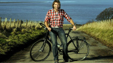 Island life: But Mark won't have his bike on Bute