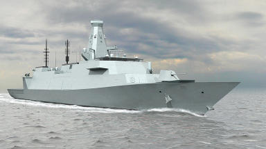 Type 26 Global Combat Ship, which is designed on the Clyde, and is due to replace the current MoD fleet.